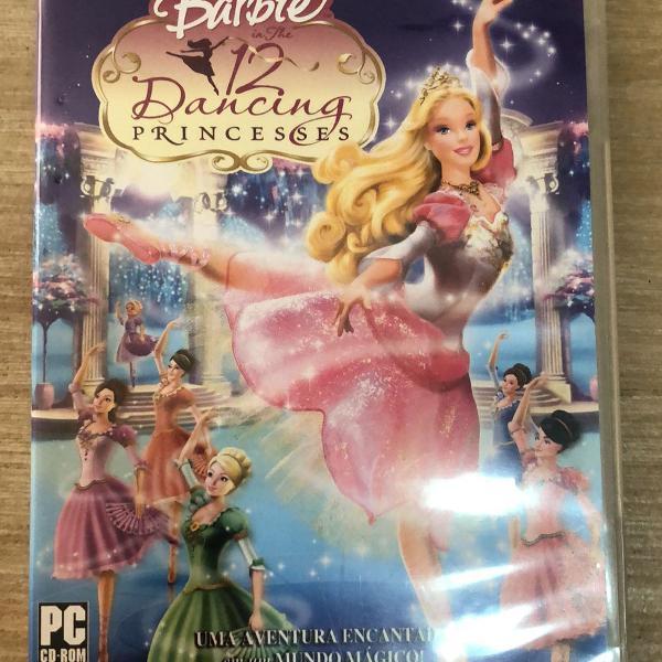 Jogo da barbie 12 princesas bailarinas
