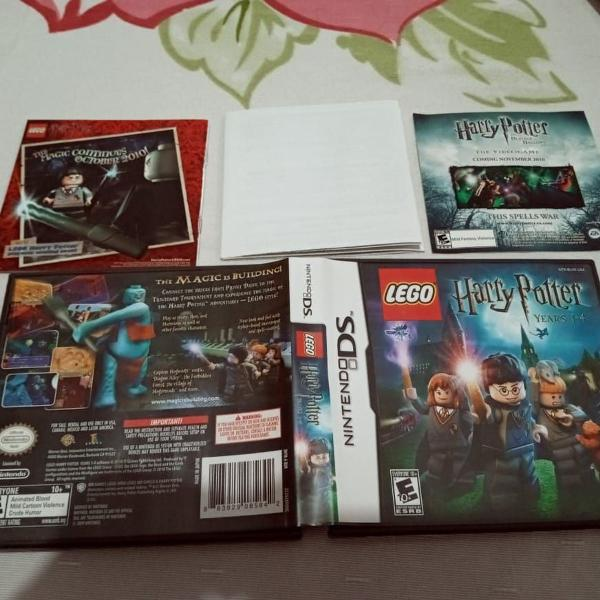 Lego harry potter ds nintendo years 1-4 112o