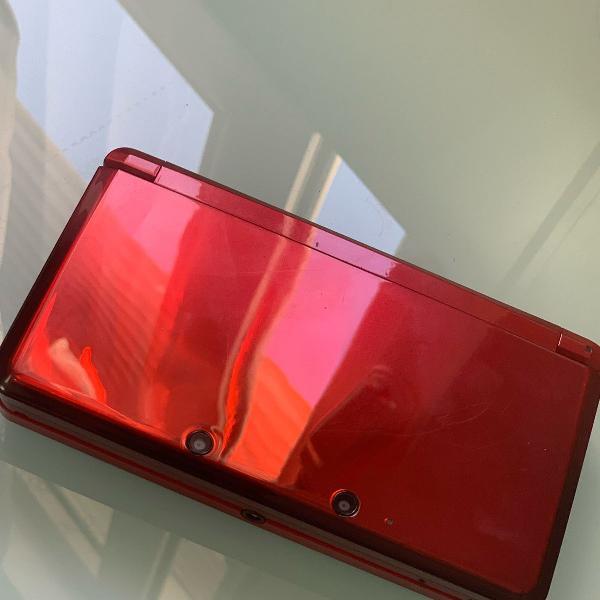 Nintendo 3ds vermelho
