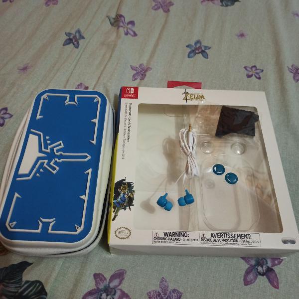 Nintendo switch starter kit zelda breath of the wild