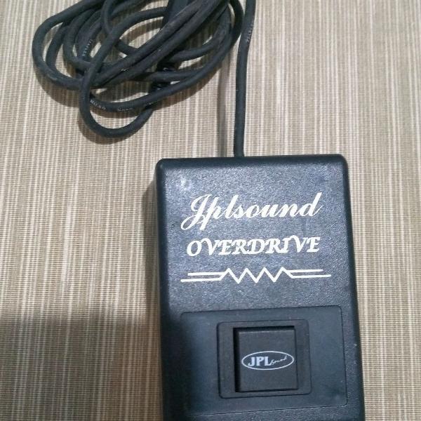 Pedal amplificador jpl overdriver