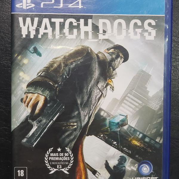 Watch dog - ps4