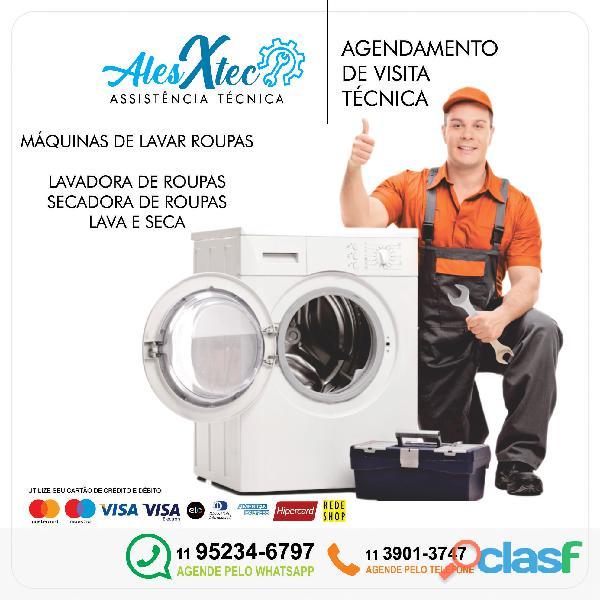 Consertos para Lavadora de roupa nacionais e importados