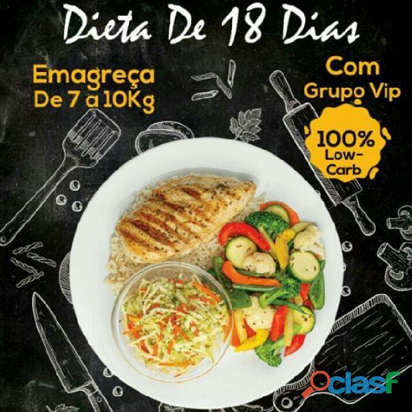 Dieta De 18 Dias Com Grupo Vip