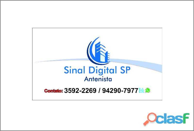 Instalação de Antena Coletiva Digital Vila Yara