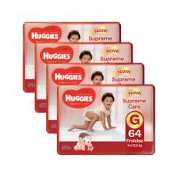 App] kit fraldas huggies turma da mônica supreme care g
