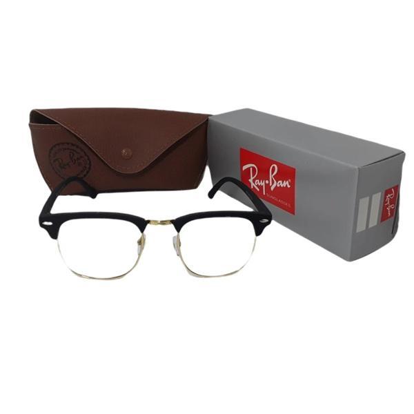 Armação óculos clubmaster unissex vintage