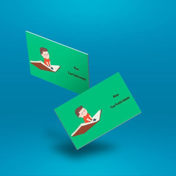 Cartões de visita, panfletos, banners, tudo em serviços