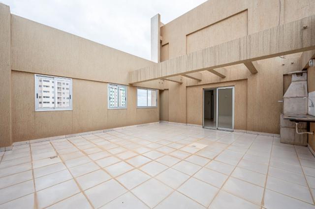 Cobertura linear 94 m² - residencial san martin - samambaia