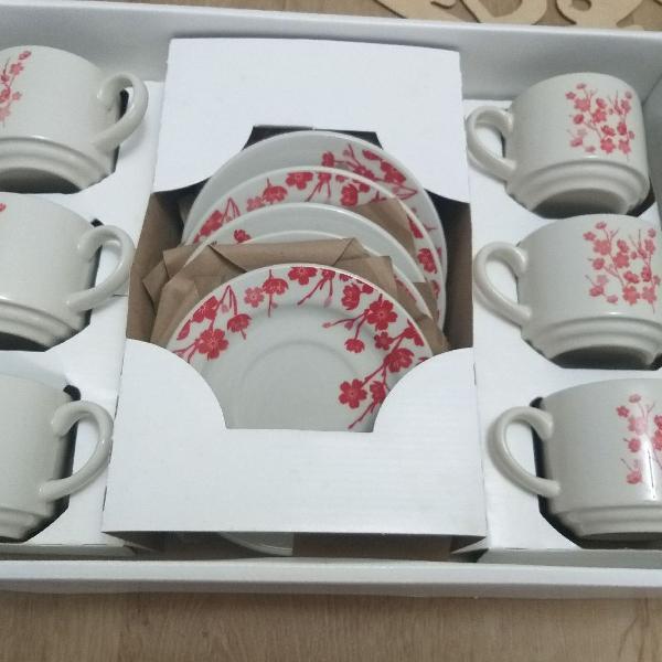 Conjunto de chá 12 peças