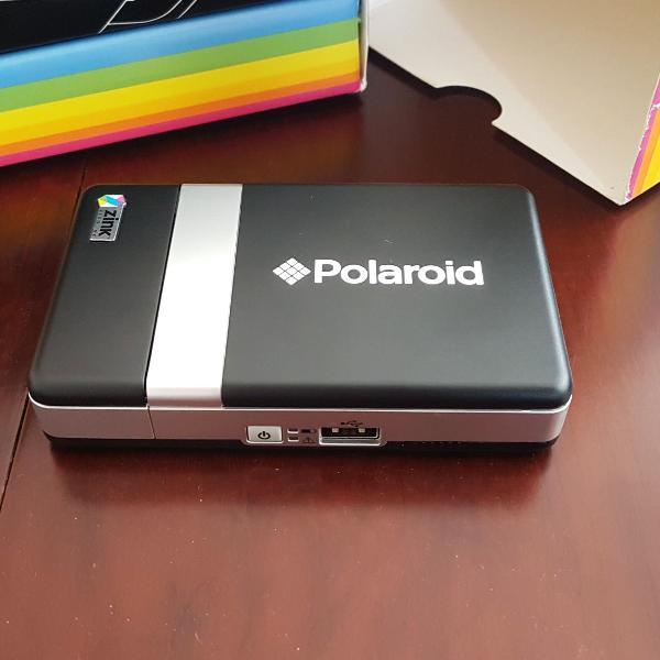 Impressora portátil polaroid pogo zink