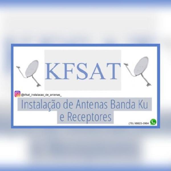 Instalação de antenas e venda de acessórios