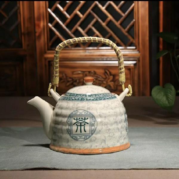 Jogo de chá em porcelana importada