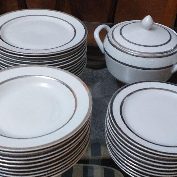 Jogo de jantar porcelana gemmer