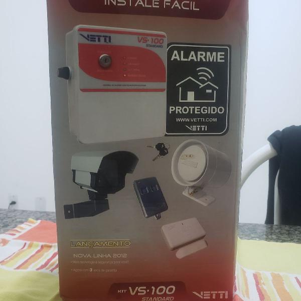 Kit alarme s/fio instale fácil-vetti vs-110