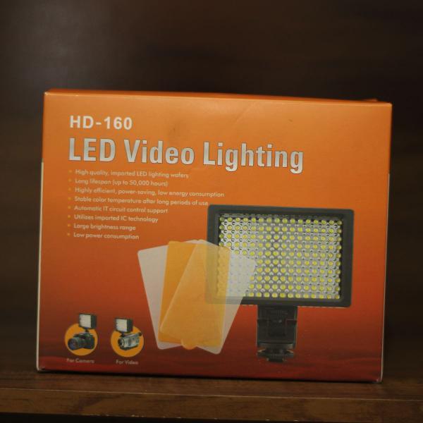 Led video lighting