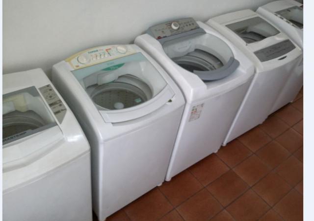Lavadoras usadas várias - pego a sua quebrada como