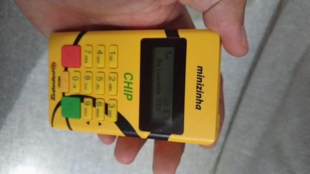 Maquina de cartão chip1