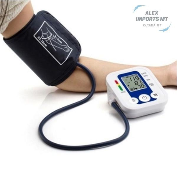 Medidor de pressao digital presão arterial pulso braço