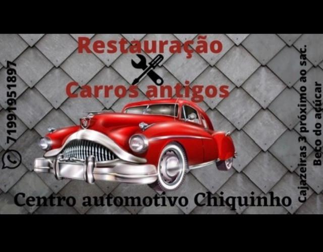 Restauração de carros antigos