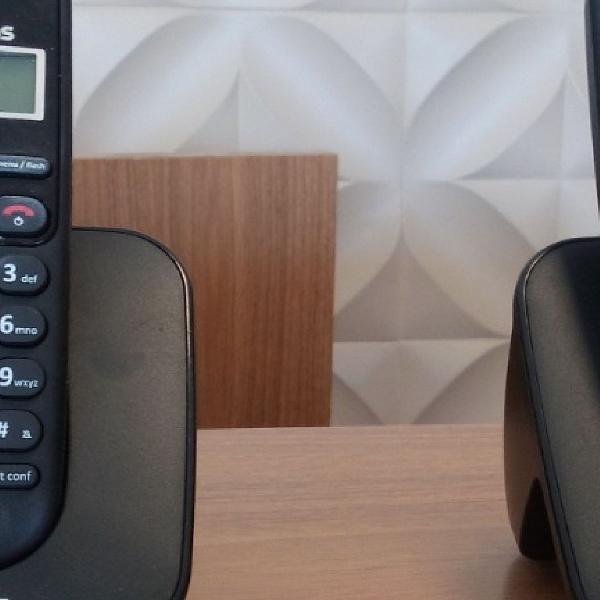 Telefone sem fio intelbras ts 3112 de mesa 1 ramal - com
