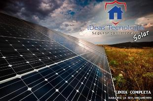 Venda e instalação de câmeras e energia solar