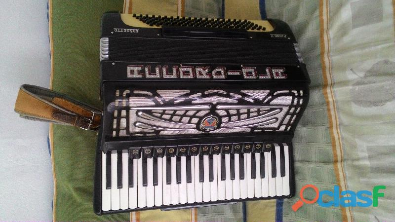 acordeon de 120 baixos accordiola c/ dupla ressonância