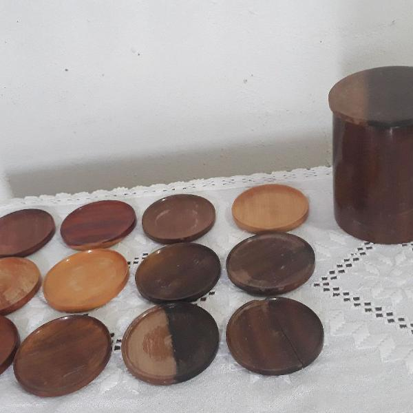 Bolacha porta copos madeiras brasileiras