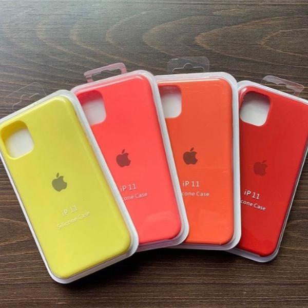 Capa silicone para iphone 11
