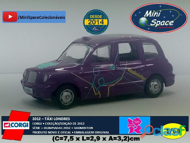 Corgi 2012 táxi londres olimpíadas badminton 1/64