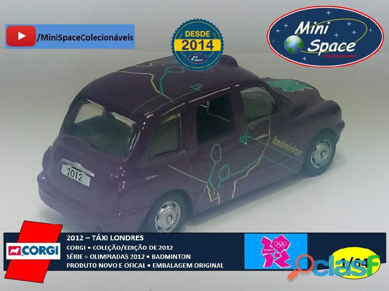 Corgi 2012 Táxi Londres Olimpíadas Badminton 1/64 6