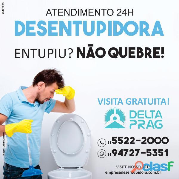 Empresa desentupidora em São Paulo