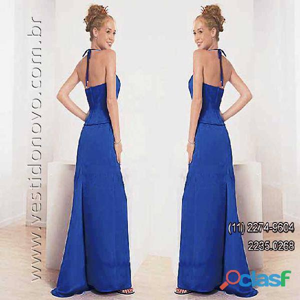 Vestido azul petroleo, madrinha de casamento