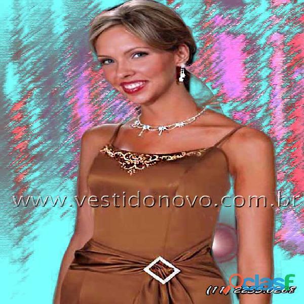 Vestido chocolate madrinha de casamento