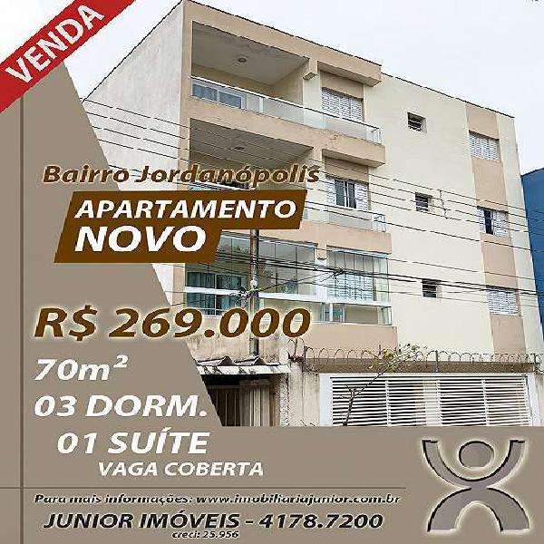 Apartamento para venda - novo - contra-piso - taxa especiais