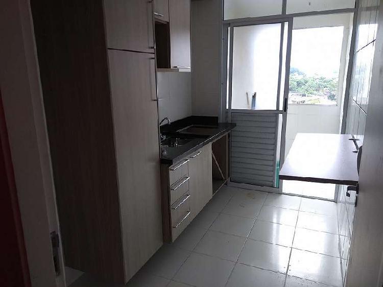 Apartamento, 2 dorms, 52m², com sacada e 1 vaga -
