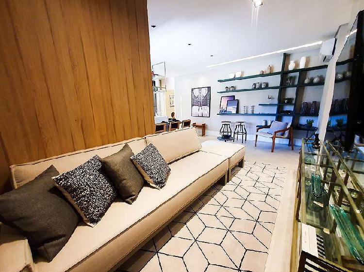 Apartamento a venda 3 dormitórios em alphaville - bonnard