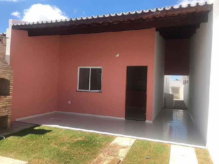 Excelente casa plana nova com 2 quarto!!