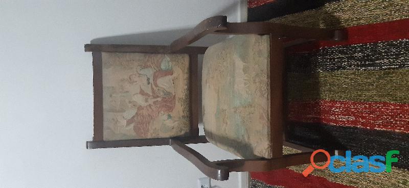 Cadeira antiga para sala, escritório ou quarto