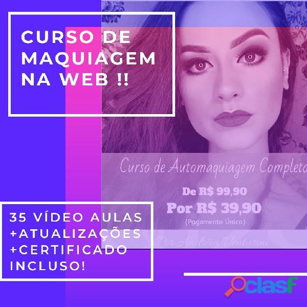CURSO DE MAQUAIGEM NA WEB