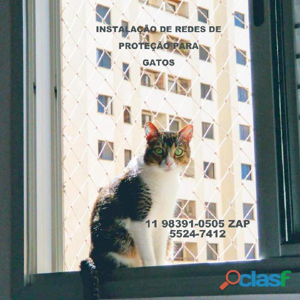 Telas de Proteção na Vila Alexandria, Rua Tebas , (11) 98391 0505, zap 1