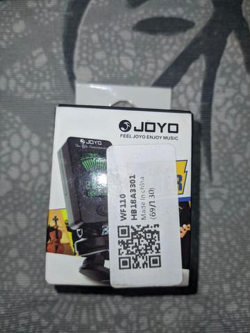 Afinador digital para cordas joyo jt-01