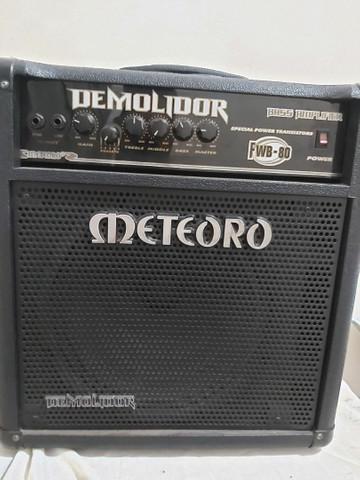 Cubo amplificador meteoro fwb80 demolidor
