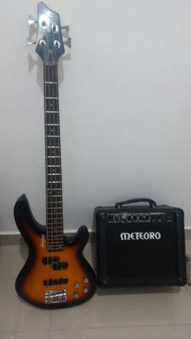 Cubo de guitarra e contra baixo
