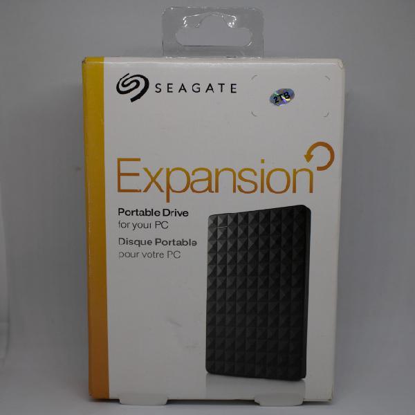Hd externo seagate 2 tb de armazenamento