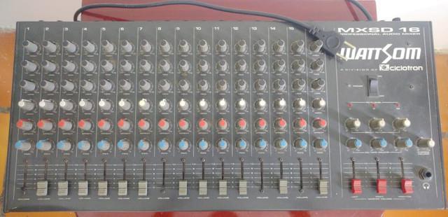 Mesa de som wattsom mxsd 16