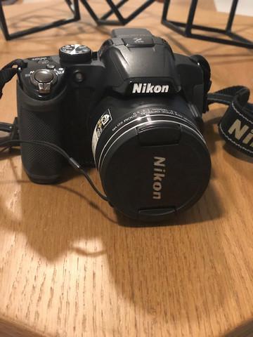 Oportunidade: máquina semi profissional nikon + case