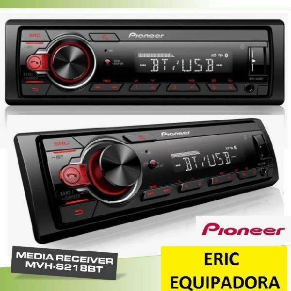 Radio pioneer 218bt com bluetooth top - super promoçã0 me