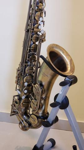 Saxofone tenor Michael WTSM47 acabamento envelhecido