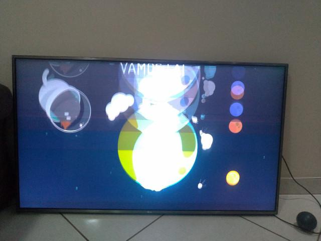 Tv led lg smart wifi 55 pol, top! defeito!! 450$
